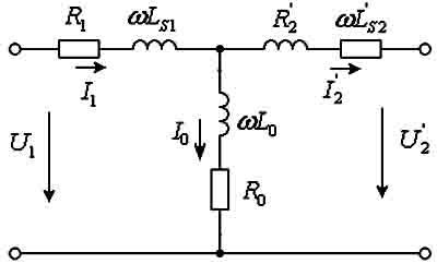 замещения схеме трансформатор в